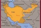نقشه زبان فارسی