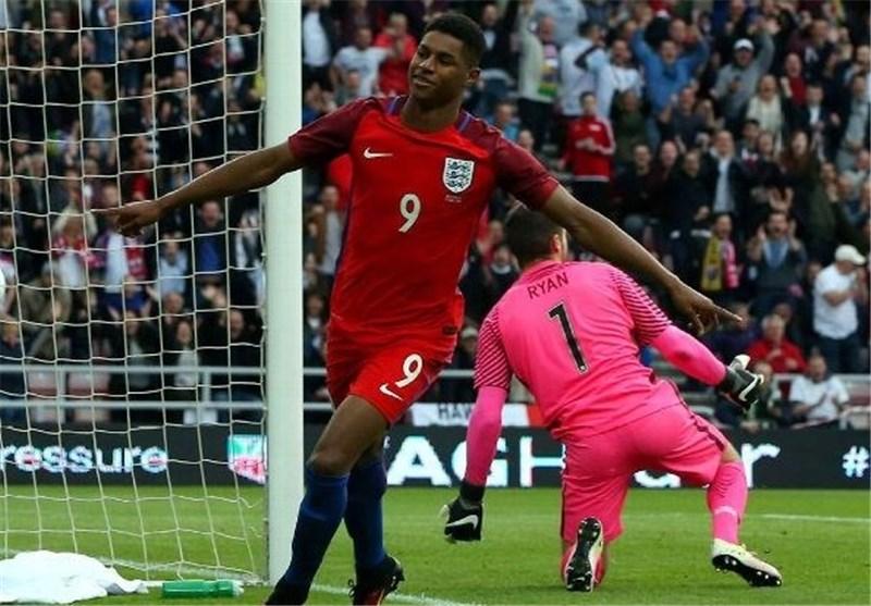رشفورد رکورد جوان ترین گلزن تیم ملی انگلیس در اولین بازی ملی  رو شکست