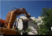 تخریب باغات حیدره همدان