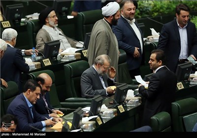 Iran's Interim Parliament Speaker Elected