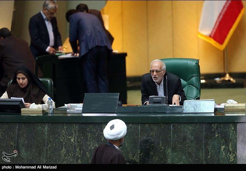 انتخاب رئیس موقت مجلس شورای اسلامی