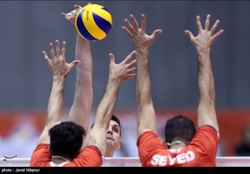 پیروزی تیم ملی والیبال ایران در مقابل کانادا