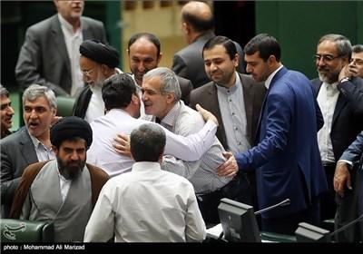 Iran's Interim Parliament Speaker Elected