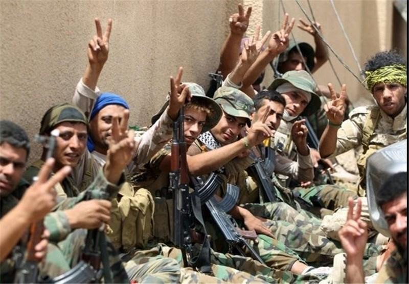 نیروهای عراقی در فلوجه