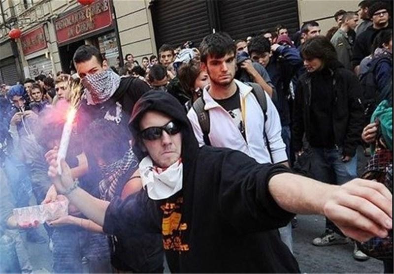 تظاهرات رم