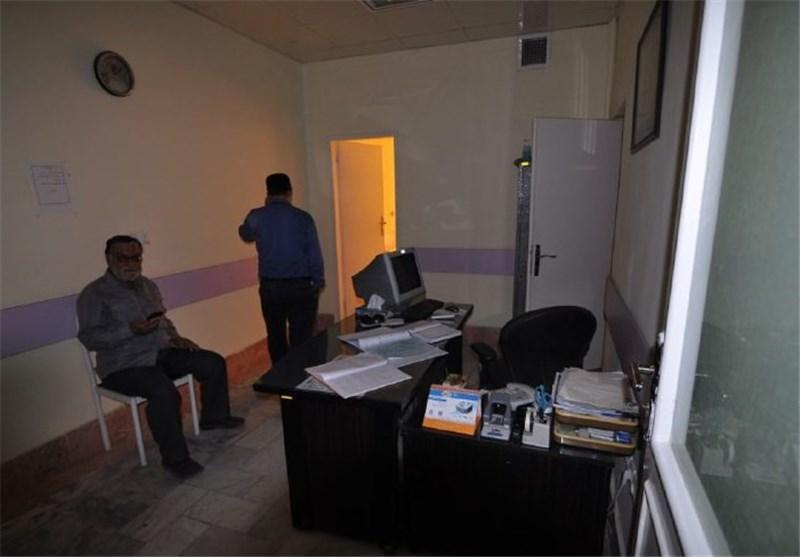 خاموشی بیمارستان امام رضا