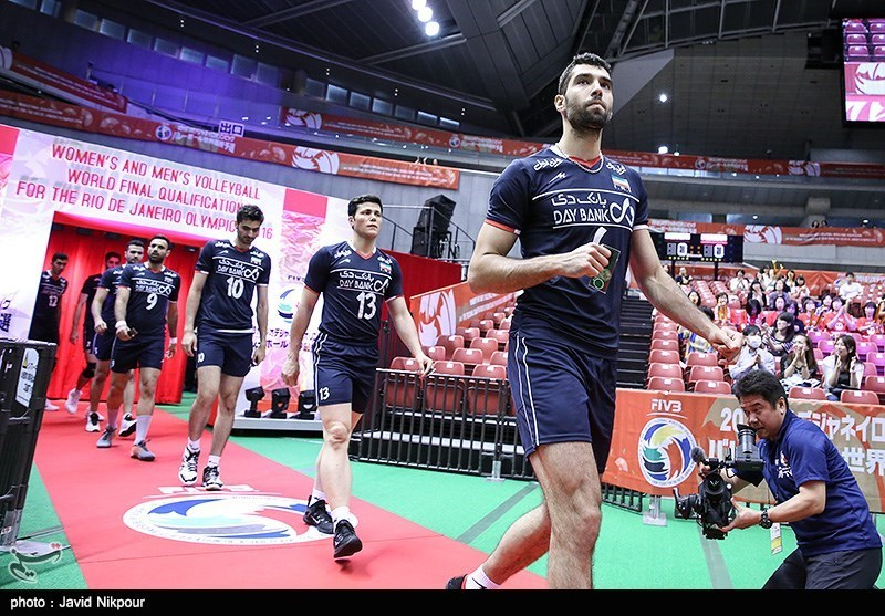 Iran Volleyball Team Loses to France at Olympics Qualifier