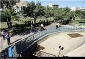 بازسازی صحنه مرگ دختر 5 ساله در پارک کوهسار مشیریه