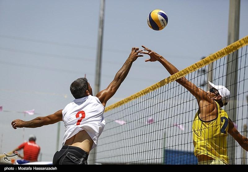 رقابت های والیبال ساحلی کشور در گلستان