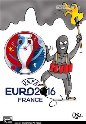کاریکاتور/ بازی تروریستها در یورو 2016