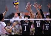 دیدار تیم های والیبال ژاپن و ایران