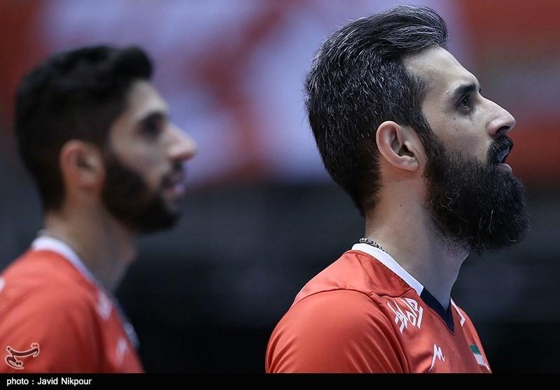 دیدار تیم های والیبال ایران و چین