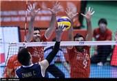 حضور والیبال ایران در 8 رویداد سال 2017 آسیا