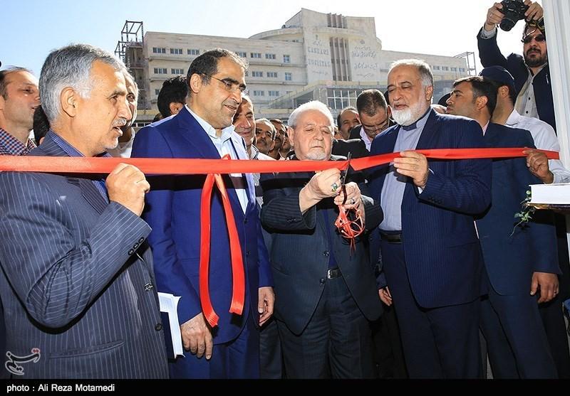 کلینیک ناباروری شهرکرد با حضور دبیر کل مجمع خیرین و وزیر بهداشت افتتاح شد
