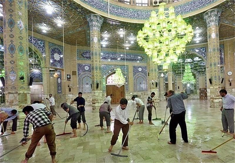 بهداشت مساجد