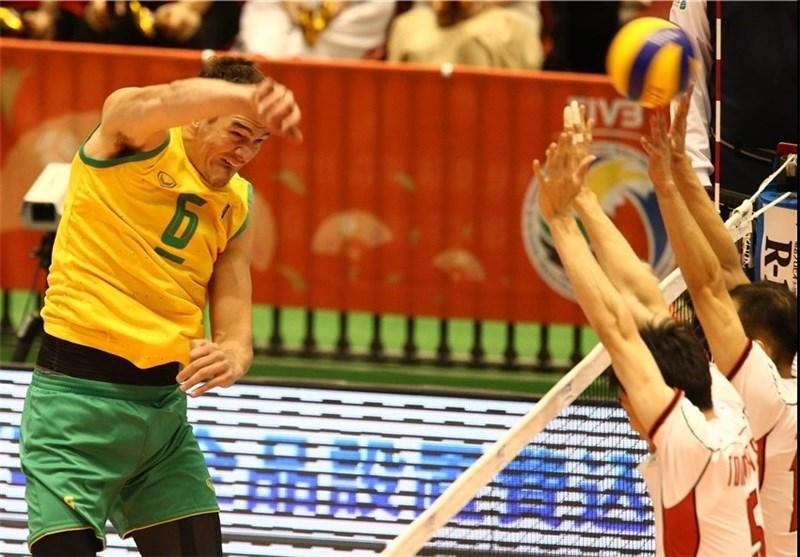 والیبال استرالیا ژاپن