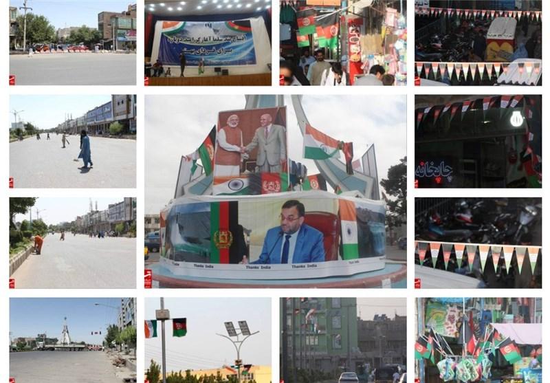 حال و هوای شهر هرات در آستانه سفر «مودی» و افتتاح سد «سلما» + عکس