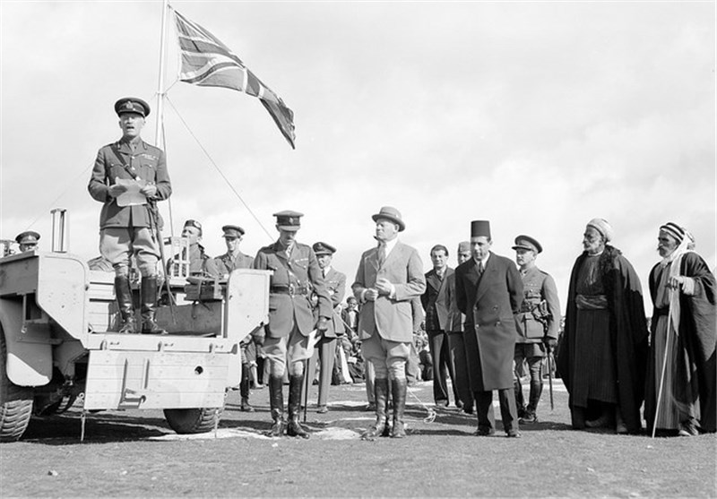نقش انگلیس در کوچاندن فلسطینیان