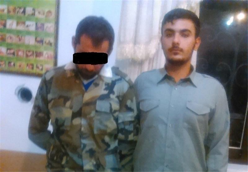 دستگیری شکارچی در پارک ملی گلستان