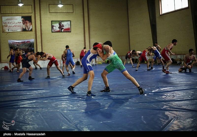 اردوی تیم ملی کشتی نوجوانان در گرگان