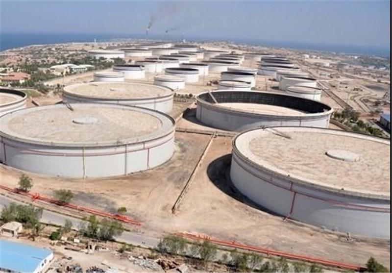 خطوط خروجی حوضچههای مخازن ذخیره سازی نفت خام خارگ احیا شد