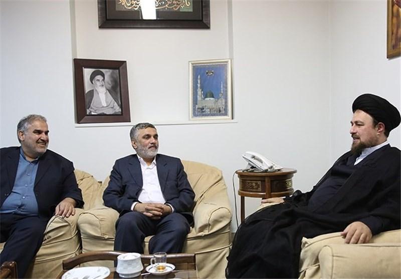 سیدحسن خمینی سپاه حفاظت