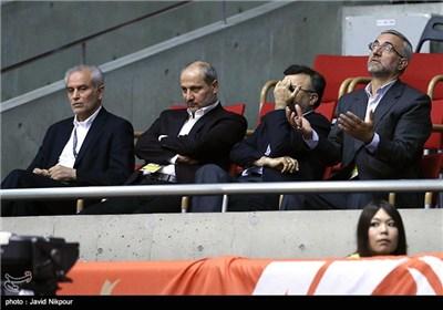 دیدار تیم های والیبال ایران و لهستان