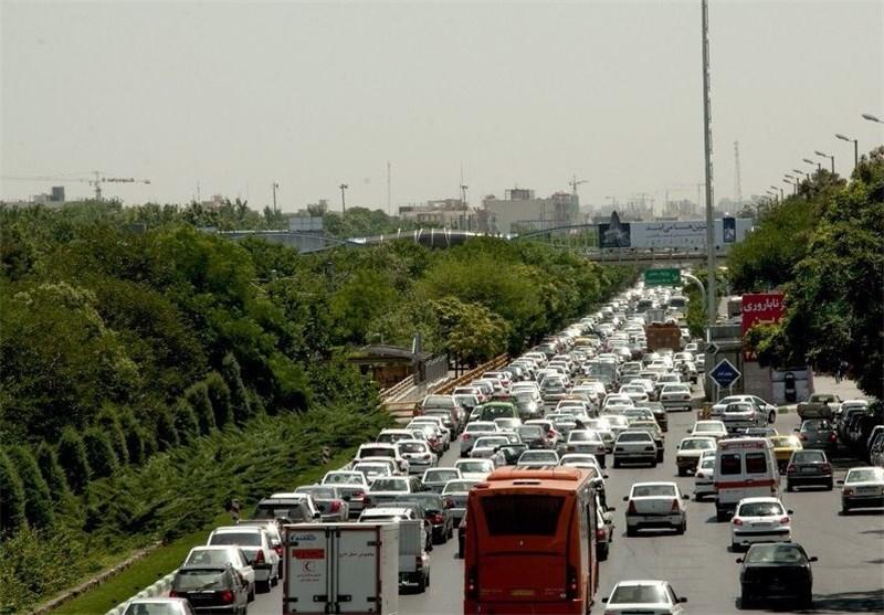 ترافیک پل آزادی مشهد
