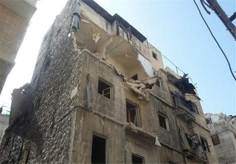 بالصور.. الإرهابیون یصعّدون من قصفهم أحیاء حلب