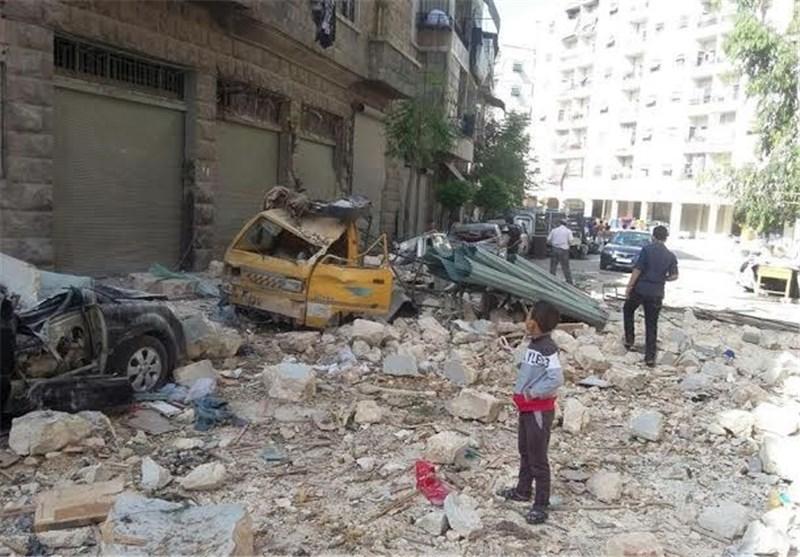 حملات تروریستی به حلب