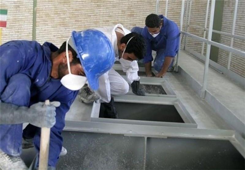 نتیجه تصویری برای کارگران سامان کاشی