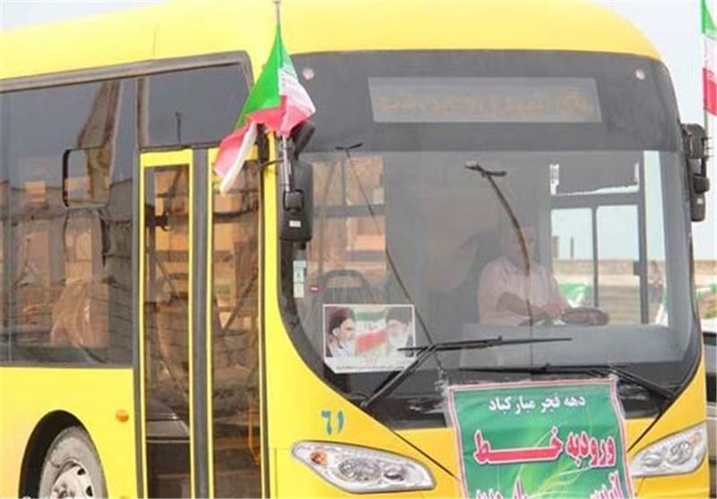 اخبار اربعین 98  358 دستکاه اتوبوس از گلستان به منطقه مرزی مهران اعزام شد