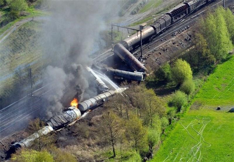 حادثه قطار بلژیک