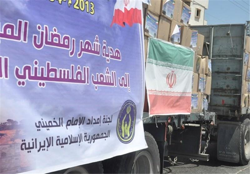 إیران تقدم افطارات رمضانیة لـ 150 ألف عائلة فی غزة