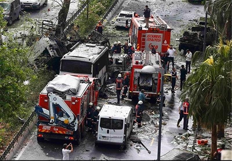 انفجار استانبول