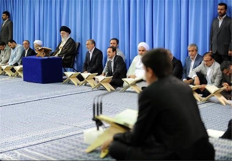 رهبر انقلاب انس با قرآن