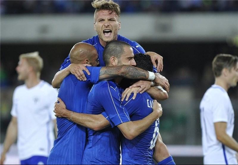 پیراهن ایتالیا برای جامجهانی ۲۰۱۸ + تصویر