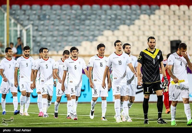 دیدار تیم های فوتبال ایران و قرقیزستان