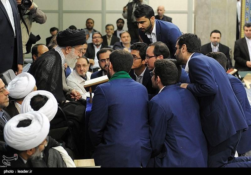 محفل انس با قرآن کریم در حضور رهبر معظم انقلاب