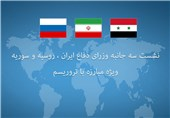Iranian, Russian, Syrian Defense Ministers to Meet in Tehran