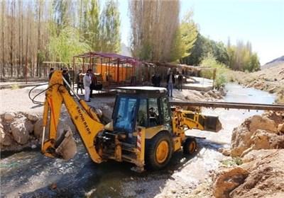 تصرف ۳۴۰ نقطه در حریم و بستر رودخانههای قزوین توسط پیمانکاران دولتی و شهرداری/ورود قوه قضائیه بحران آب را برطرف کرد