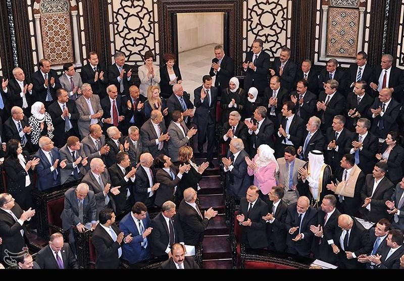 سخنرانی بشار اسد در پارلمان سوریه