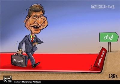کاریکاتور/ فرش قرمز زیر پای مشاور انقلابهای رنگین!