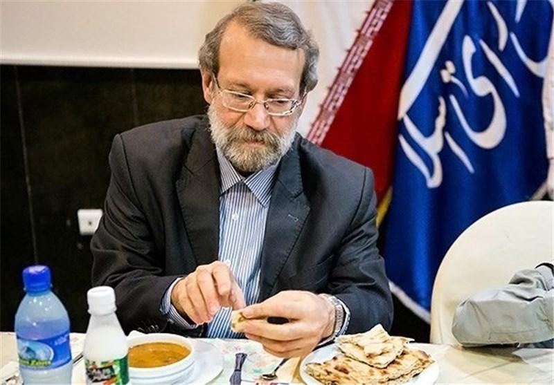 لاریجانی افطاری 2