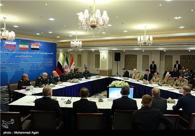 الاجتماع الثلاثی لوزراء دفاع ایران وروسیا وسوریا