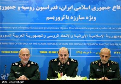 نشست سه جانبه وزرای دفاع ایران ، روسیه و سوریه