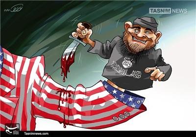 کاریکاتور/ خودزنی در اورلاندوی آمریکا