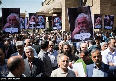 تشییع شاعر الثورة الاسلامیة حمید سبزواری