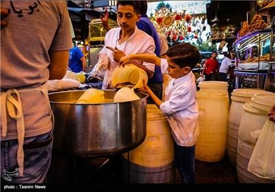 Damascus Bazaar in Ramadan