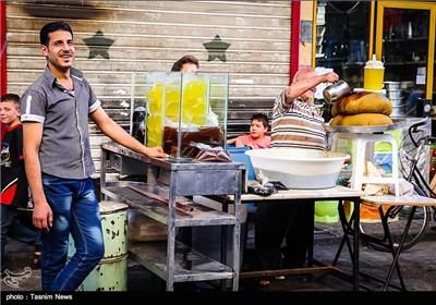 بازار دمشق در ماه مبارک رمضان